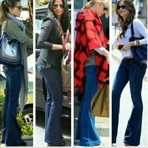 Hudson Ferris Flare Jeans Size 31